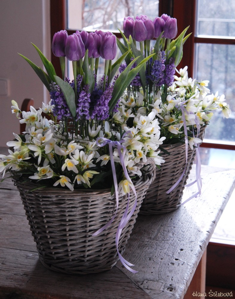 Fialove Tulipany Prodane Dekorace Prodane Dekorace Prodane