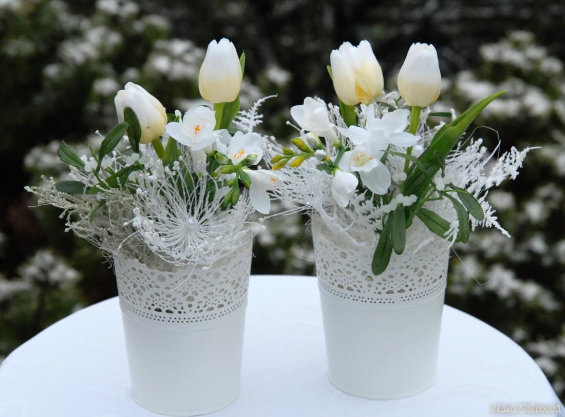 Dekorace Vanocni Tulipany V Krajce Prodane Dekorace Prodane